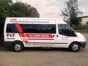 Personenbeförderung & Fahrservice Ahrendt